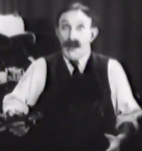 James Finlayson in Anything Once!
