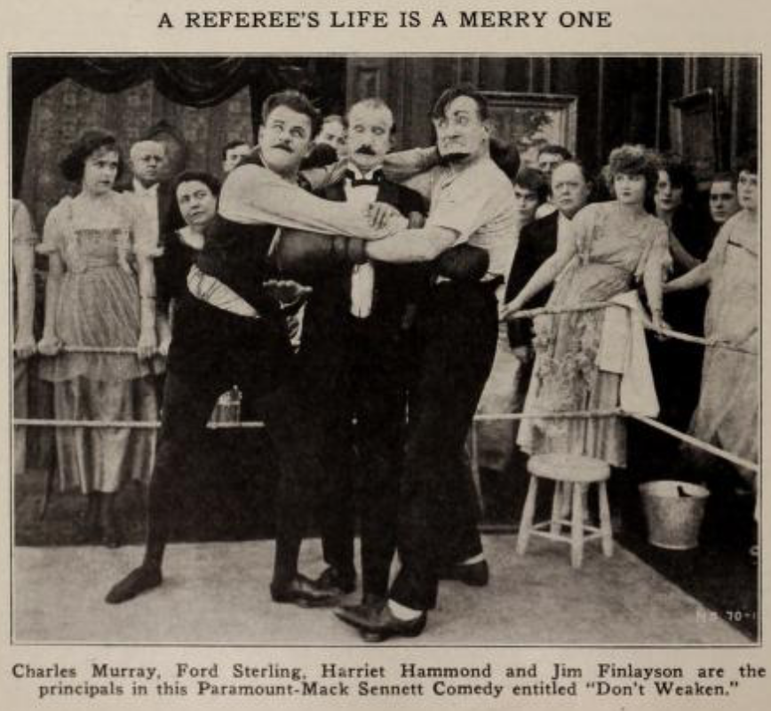 Ford Sterling, James Finlayson and Charles Murray in DON'T WEAKEN (1920)