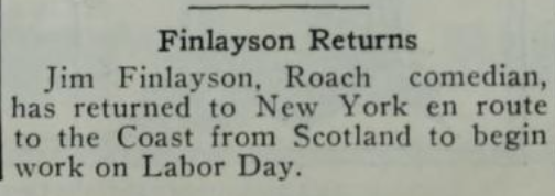 Source: The Film Daily, 27 Aug 1924, p. 1