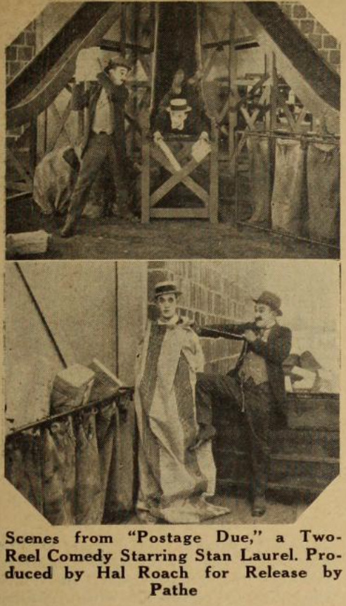 Scenes from POSTAGE DUE (1924)
