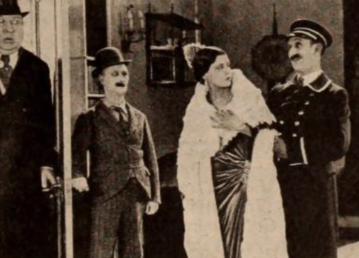 Scene from PITFALLS OF A BIG CITY (1923)