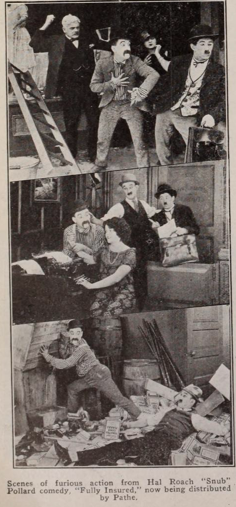 Scenes from FULLY INSURED (1923)